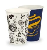 Картонени чаши – универсални, 180 мл
