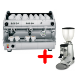 Kафе машина Saeco Professional Aroma SE200 + Fiorencato F5 употребявани